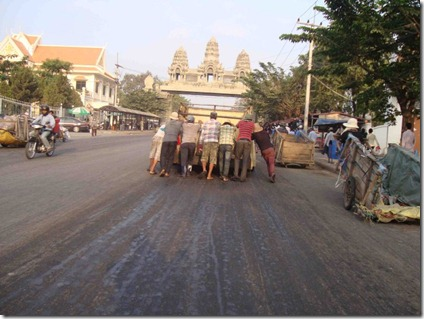 Smell on Road in Poipet